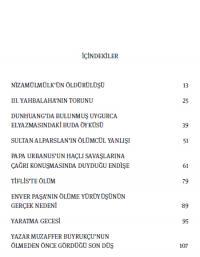 Nizamülmülk'ün Öldürülüşü Ahmet Yıldız