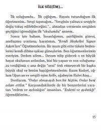 Tebeşir Kokulu Sözler Ali Ekber Ataş